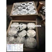 Flanges de aço inoxidável ANSI B16.5 forjado / forjado