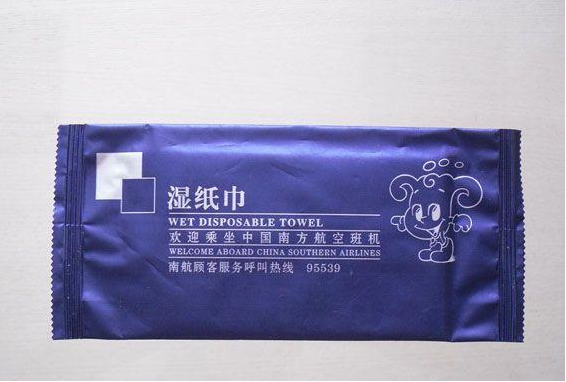 Single Wet Napkin Packing Machine