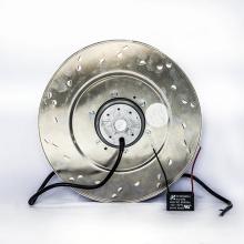 305 * 305 * 112 мм алюминиевый литой Ec вентиляторы