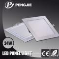 Luz de painel interna do diodo emissor de luz do quadrado da iluminação 24W do preço de fábrica