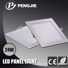 Заводская Цена крытого освещая квадратный свет панели СИД 24w