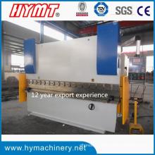 Máquina plegadora hidráulica Wc67y-160X4000 y máquina dobladora de placas de acero