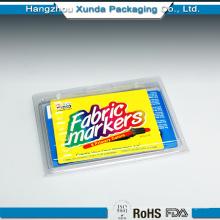 Personalizando embalagem de presente de plástico