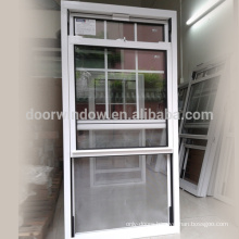 American double hung window sliding sash window with thermal break aluminum frame