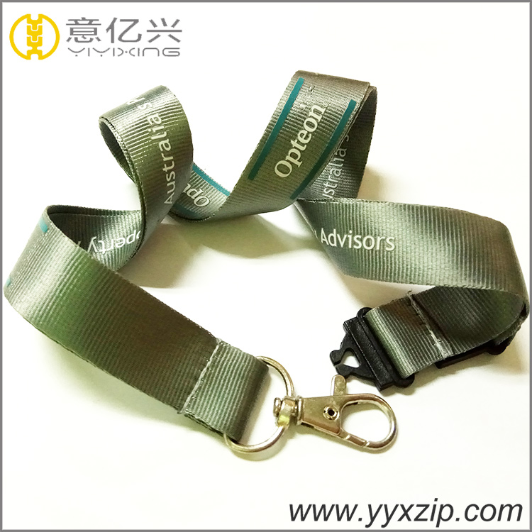 Silkscreen Custom Nylon Lanyards