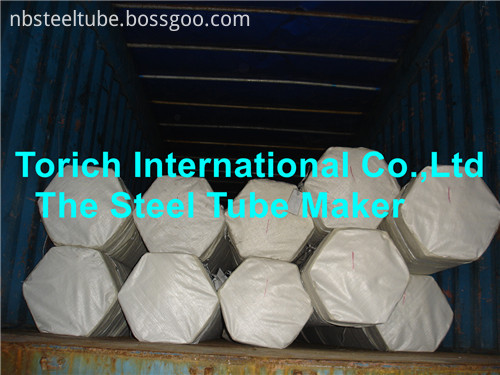 Steel Tube Packing And Loading
