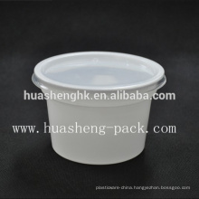 China Factory Food Grade 420ml disposable PP plastic congee bowl