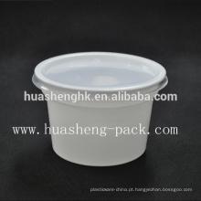 China fábrica de alimentos grau 420ml descartáveis PP plástico tigela congee
