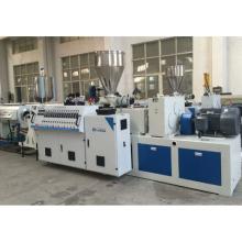 Chaîne de production en plastique d'extrusion de tuyau de PVC