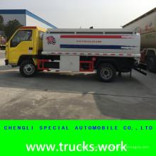 2 compartimentos Forland 6wheels óleo combustível caminhão-tanque