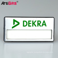 Made In China Custom Design Cheap Magnetic Rectangular Name Badge Name Plate