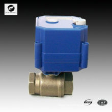 2 way motorized operated valve with manual override for softner machine