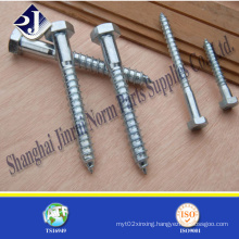 Carbon Steel Hex Head Wood Screw