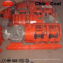Doppeltrommel-Bergbau-Schaber-Winde für das Eröffnen von Erz
