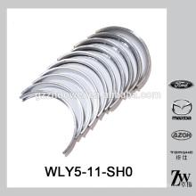 Rolamento principal do mancal do motor diesel +0.25 WLY5-11-SH0 para Mazda WL