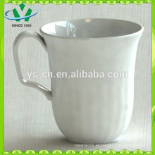 Taza cerámica al por mayor, taza de cerámica blanca