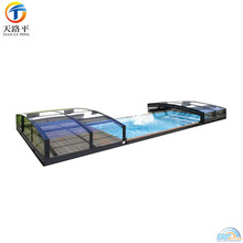 High Quality Aluminum Frame Portable Glass Sunroom In Sale