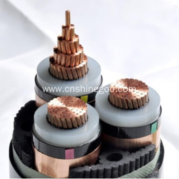 Silicon insulated Steel tape armoured power cable