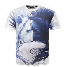 Summer Fitness High Quality Retail T Shirt 3D, Digital Printing T Shirt