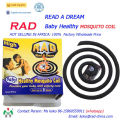 125rad Baby Healthy Mosquito Coil for Nigeria Market