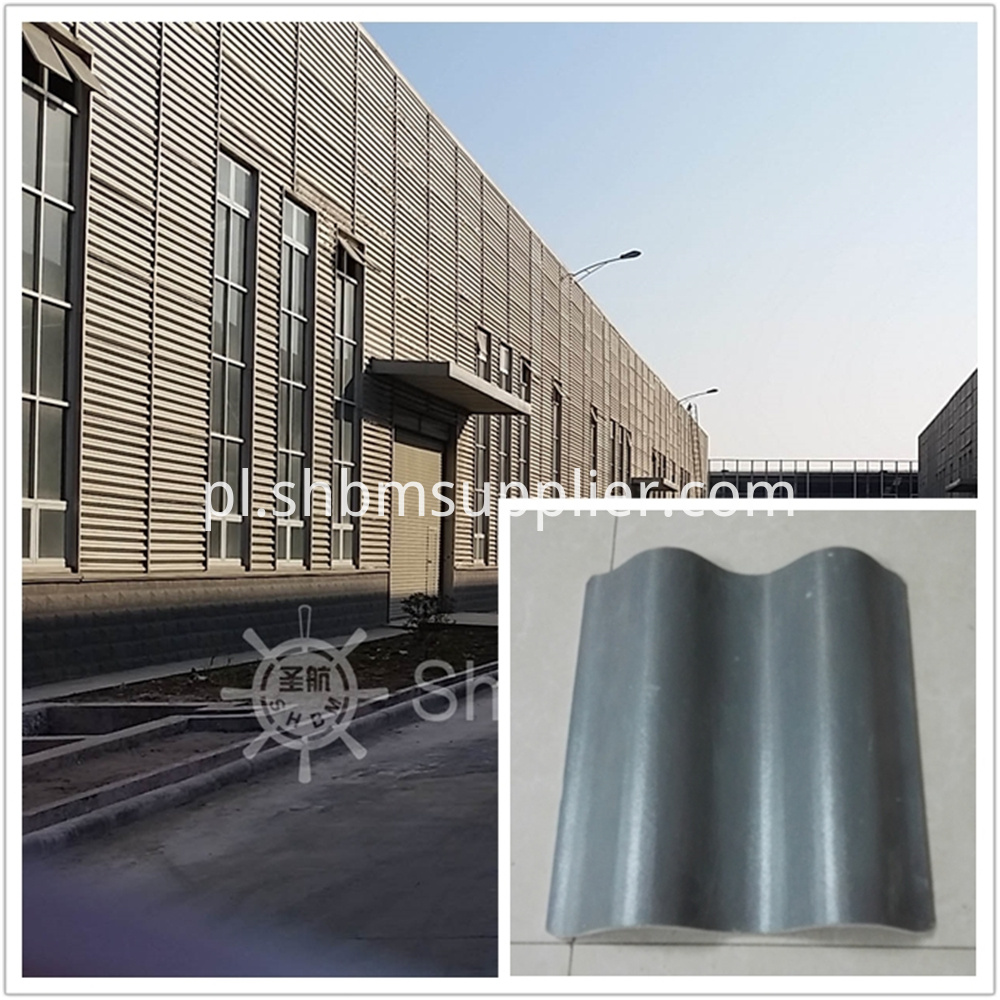 Heat Insulation Fireproof MgO Roofing Tile