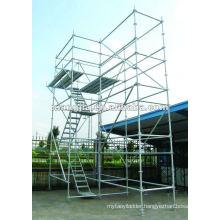 Hot sell Ring lock aluminum scaffolding