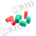 Made in RHI Electric Plastic pipe fittings, custom pipe protective caps, PVC pipe fitting end cap