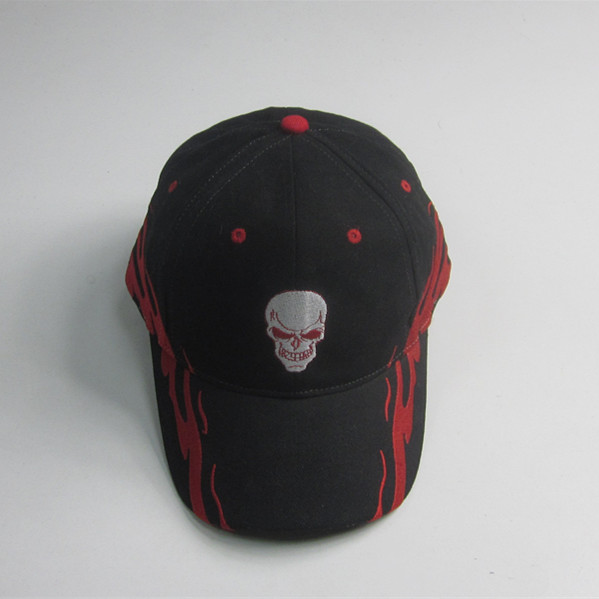 Hot Sale Flaming Bordado Cap Sport