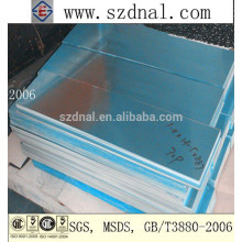 high quality aluminum sheet price 5052 5083 5754