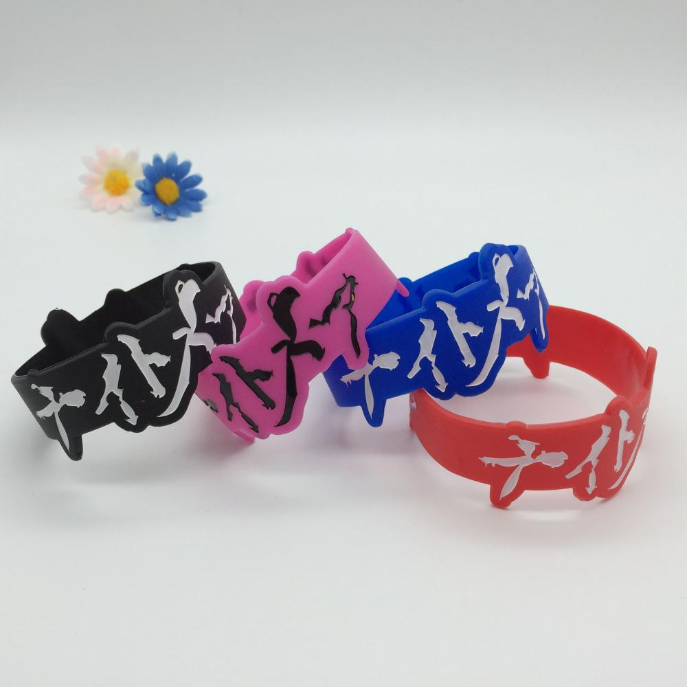 Figured Silicone Wristbands