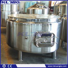 KUNBO SUS 304 or 316 Steam Jacket Lauter Boiler Mash Tun