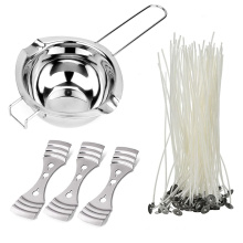 DIY Candle Making Accessory Set Wax Melting Pot Wick Holder Cotton Wax Candle Wicks