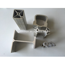 Square tube aluminum profile