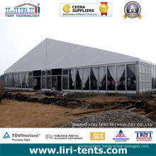 30m X 70m Large Big Tent with Glass Walls & Glass Doors