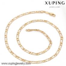 43178 Xuping moda homem colares de jóias