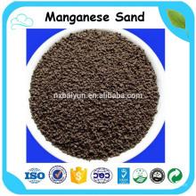 Sable de dioxyde de manganèse pour le traitement de l'eau