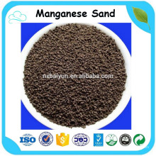 Manganese dioxide sand for water treatment