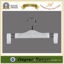 Пластиковая вешалка для одежды White PP Pants Hanger