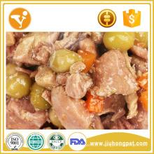 Fabrication d'aliments Gâteaux biologiques Traitement de boeuf Aliments canins