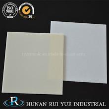 99,6% alumina cerâmica folha com superfície polida