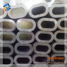 cheap thick wall oval aluminum alloy pipe price for antenna