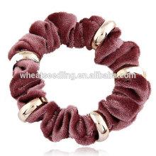 Neues Metall flannelette Seil breites Haarband