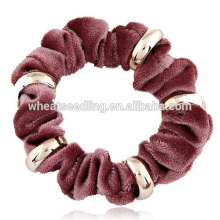 La más nueva cuerda del flannelette del metal venda ancha del pelo