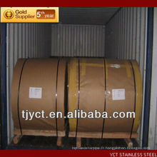 Fabrication de bobine d'aluminium de haute qualité