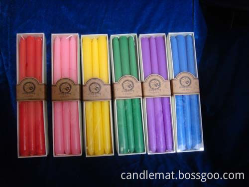 taper candle and spiral candle3