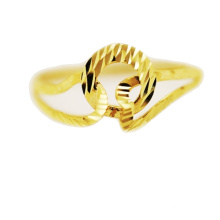 Interlocking Ring 18 K Yellow Gold