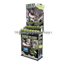 Durable Instore Metallic Free Standing Equipo industrial Hardware Herramientas de mano Display Stand