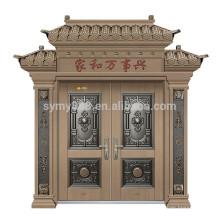 стальная входная дверь дизайн главные ворота вилла дверь стальная дверь кожа