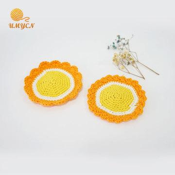 Nuevo diseño Crochet Pattern Amigurumi Coaster