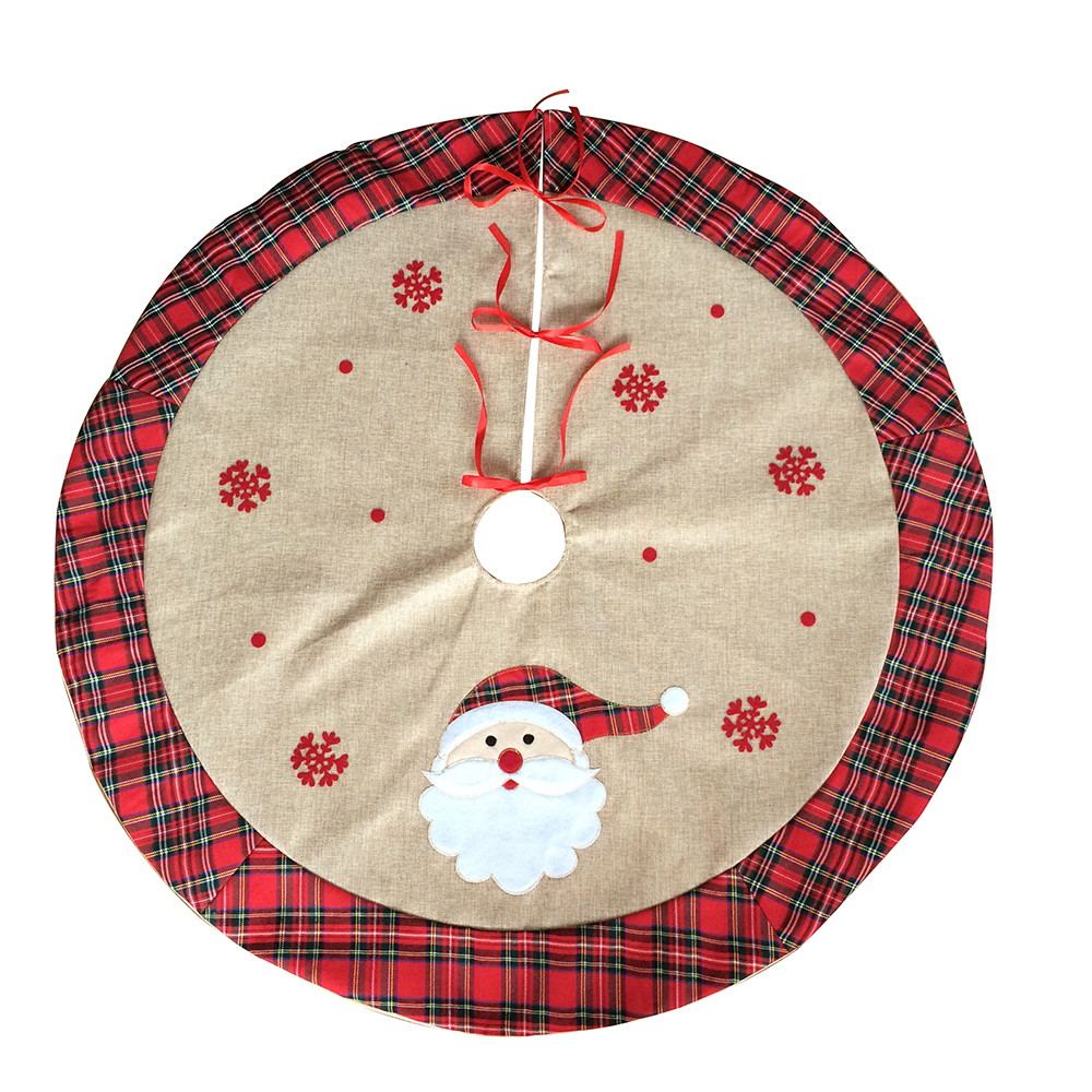 Scottish Style Christmas Tree Skirt
